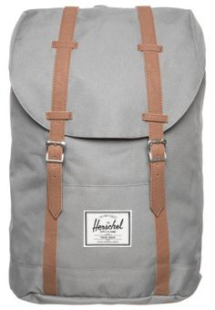Great, a little bigger backpack for weekend trips. Herschel - RETREAT - Reppu - grey. 84,95 €, Zalando.