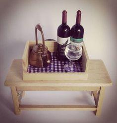 #miniature  #wine #mini #dollhousethings #dollhousething #tiny