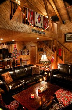 A Frame Cabin, A Frame House, Cozy Cabin, Cozy House, Cabin Lighting, Log Cabin Homes, Barn Homes, Cabins, Cabin Interiors