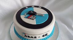 BMW Cake Mum Birthday, Birthday Ideas, Bmw Cake, Aga, Wedding Cakes, Tasty, Sweet, Desserts, Food