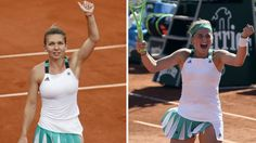 Paris: Simona Halep set up a French Open final against Jelena Ostapenko on Thursday, taking her to within touching distance of a first Grand Slam title and the world number one spot.    Romanian third seed Halep,