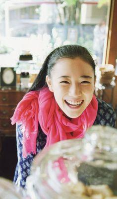 Aoi Yu, Japan Fresh Girls, Sweet Girls, Cute Girls, Yu Aoi, Photography Women, Editorial Photography, Smiling People, Asian Cute, Mori Girl