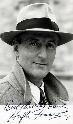 Captain Hastings (Hugh Fraser) from Agatha Christie's Poirot