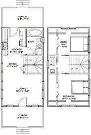 House Plan 16 X 27 Sq Ft क ल ए इम ज पर ण म Tiny House Floor Plans 20x30 House Plans