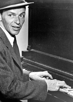 1956 - Frank Sinatra - 'The Tender Trap' - theme song from the Frank Sinatra/Debbie Reynolds movie of the same name. Released on the LP This Is Sinatra Piano Sheet, Young Frank Sinatra, Je Chante, Debbie Reynolds, Amazing Songs, Dean Martin, Young At Heart, Classic Films, Old Hollywood