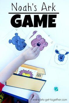 Noah's Ark Game   Let's Get Together #freeprintable