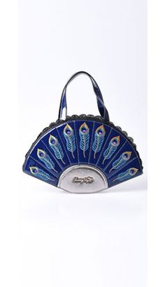 a42a3569c4 Banned Navy Blue Patent Leatherette Deco Savage Garden Handbag Vintage  Inspired Outfits