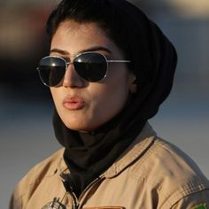 Niloofar Rahmani, 23, who became Afghanistan's first female pilot to serve in the air force since the fall of the Taliban. | 17 Badass Women You Probably Didn't Hear About In 2015 - BuzzFeed News