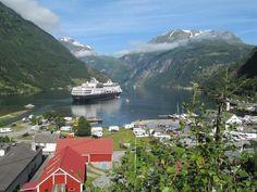 Geiranger, Norway. #Europe #NothernEurope #Cruise