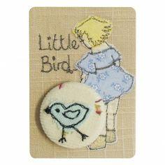 Little bird - pretty badge