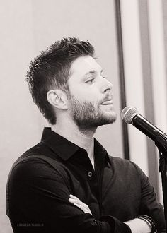 Supernatural Support - All I'm saying is Dean should just grow a beard. That's all .