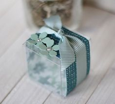 Transparent Box, Box Bag, Craft Sale, Stamping Up, Cardmaking, Paper Crafts, Projects, Gift, See Through