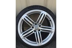 """19"""" OEM Audi S5 peelers wheels and tires great condition"""