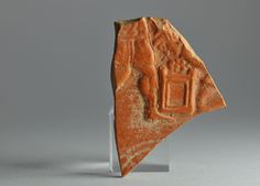 African red slip ware sherd with binding of Isaac 3