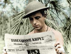 Xenophon Castrisos, an aerial photographer with the RAAF. by Markos Danezis