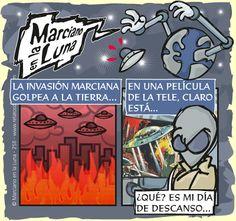 Marciano en la Luna · ¡Invasión!...