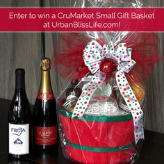 12 Days of Holiday Giveaways, DAY 5: CruMarket Artisan Food Gift Baskets