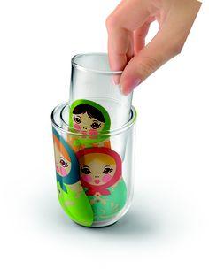 Matryoshka glass
