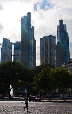 Puerto Madero es el principal centro financiero de Buenos Aires.