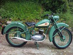 Motorcycle Throwback - 1950 BSA Bantam - BikeBandit.com                                                                                                                                                                                 More