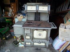 not our stove,  but this is same everything as mine -- mine is in very nice condition.