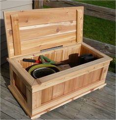 Deck Box or could be a planter without the lid.