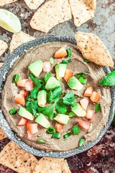 This Black Bean Avocado Dip is super easy and perfect for all those times you need a healthy snack or party appetizer in a jiffy! It's delicious, nutritious, and versatile. Ever need something to keep your energy levels up and hunger down, with hours to go 'til dinner? You want to take the edge off...Read More »