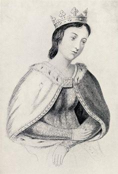 Eleanor of Provence, b.1223 d.25 June 1291, wife of Henry III and Queen Consort. Nine children.