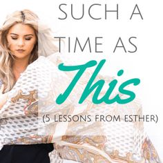 For Such A Time As This (5 Lessons From Esther) King Do, Beautiful White Dresses, Save Her, Faith In God, Happily Ever After, Love Life, Got Married, Feel Good, Bible