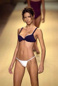 A young Adriana Lima