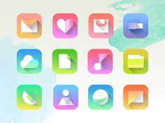 Phone theme on Behance
