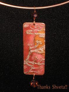 copper pendant for her from shveta thanks