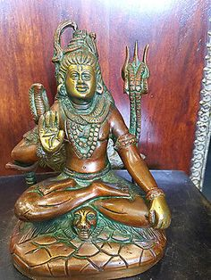 SEATED-LORD-SHIVA-BRASS-STATUE-RELIGIOUS-HINDU-GOD-OF-LOVE-SUCCESS-7-INCH  http://stores.ebay.com/mogulgallery