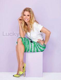 Actress Julie Bowen : Head Over Heels for Julie Bowen : Lucky Magazine