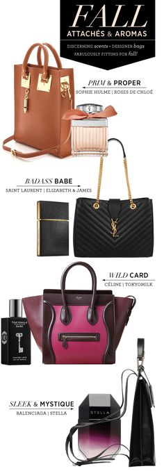 Ultimate Fall Guide to Handbags + Scents