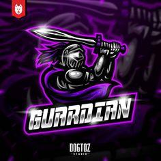 Team Logo Design, Mascot Design, Esports Logo, Game Logo, Paladin, Cool Logo, Drawing Ideas, Knight, Badge