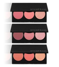New beauty must-have! These blush and highlighter palettes from Smashbox are absolutely gorgeous!