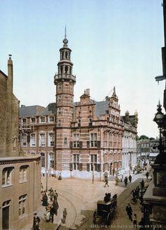 1900 Het stadhuis van Den Haag.