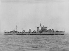 HMS Escapade (H-17) 1934, was an E-class destroyer of the British Royal Navy in commission from 1934 until 1946, that saw service before and during World War II, seeing service on Russian, Malta and Atlantic convoys.