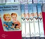 The Bobbsey Twins - two sets of fraternal twins: Bert and Nan and Freddie and Flossie – a series of children's novels, penned under the pseudonym Laura Lee Hope. The first book was published in 1904, the last in 1979, relating the adventures of the children of the middle-class Bobbsey family – In the Country; At the Seashore; At School etc. Loved them when I was a child ♥ ♥
