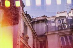 Tejados en París. Con Smena 8M