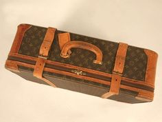 Authentic Vintage French Louis Vuitton Suitcase/End or Coffee Table Louis Vuitton Suitcase, Real Louis Vuitton, Louis Vuitton Trunk, Float Your Boat, Coffee Table With Storage, Most Favorite, French Vintage, Trunks, Antiques