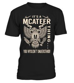 It's a MCATEER Thing, You Wouldn't Understand