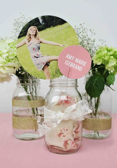 centerpieces for grad parties | Graduation Party Decoration Ideas - Our Top 5 Graduation Party ...