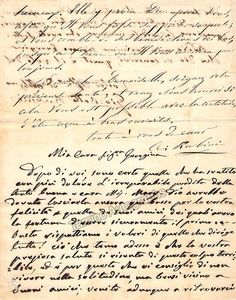 Battista Rubini, Giovanni - Autograph Letter Signed Handwriting Styles, Beautiful Handwriting, Text Back, Opera Singers, Lost Art, Penmanship, Things To Come, Bellini, Lettering