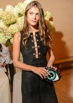 Vogue and Metropolitan Museum of Art Costume Institute Party- I love the color of her hair ! All Fashion, Fashion Models, Models Style, Elisa Sednaoui, Garance, French Chic, French Style, Costume Institute, Girls Night Out