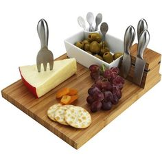 10 Piece Buxton Cheese Board & Tools Set