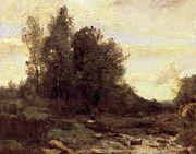 "New artwork for sale! - "" Corot Le Torrent Pierreaux by Jean Baptiste Camille Corot "" - http://ift.tt/2pQgdxl"