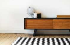 Vintage retro tv dressoir deens design design meubelen en de