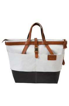 x Rachel Zoe 'Jet Set' Canvas Diaper Bag
